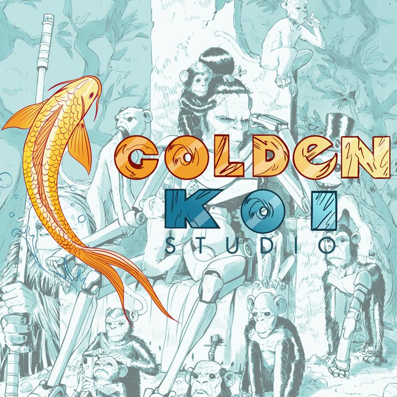 golden koi studio imagen destacada